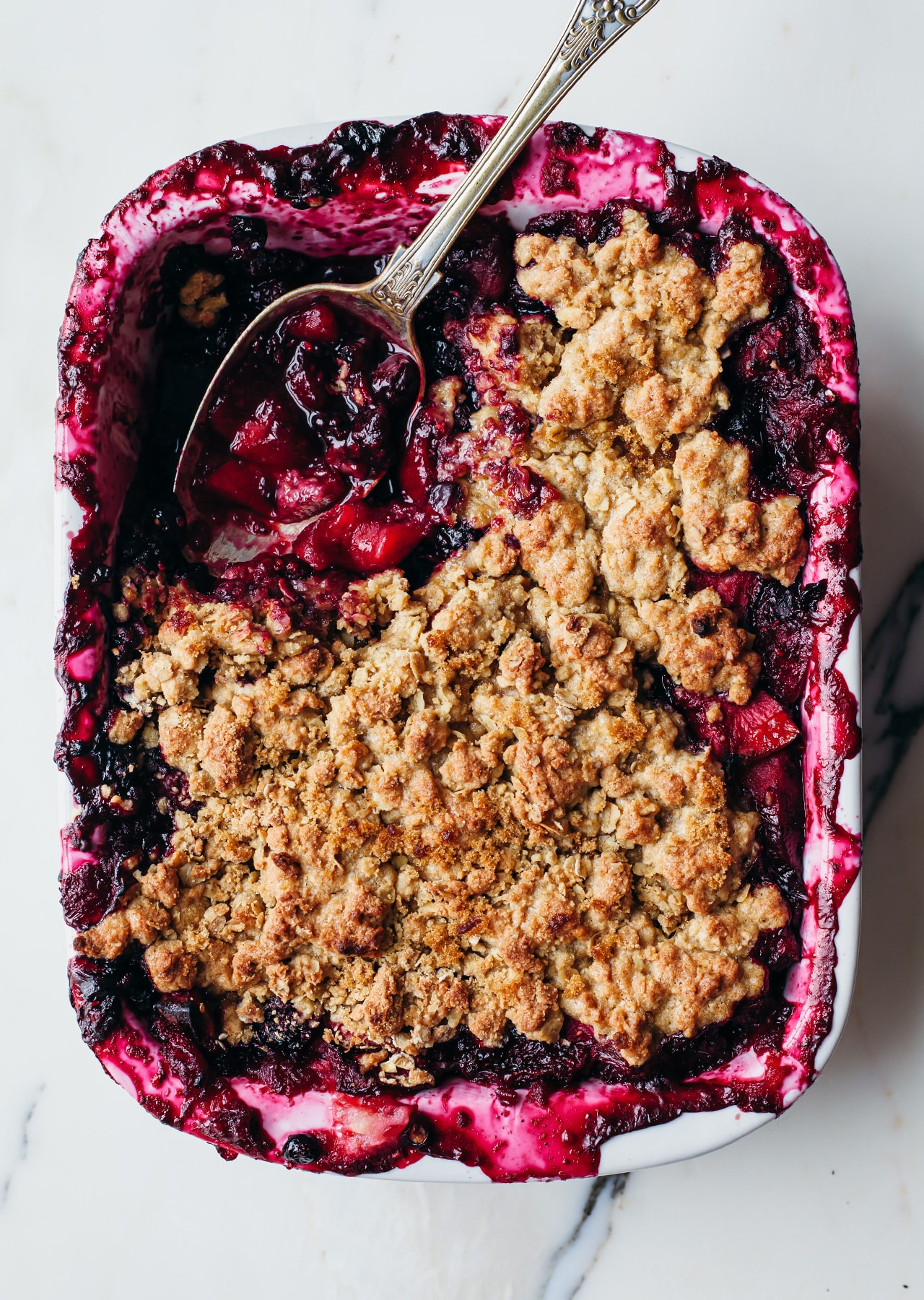 Apple Berry Crumble Vegan Recipe