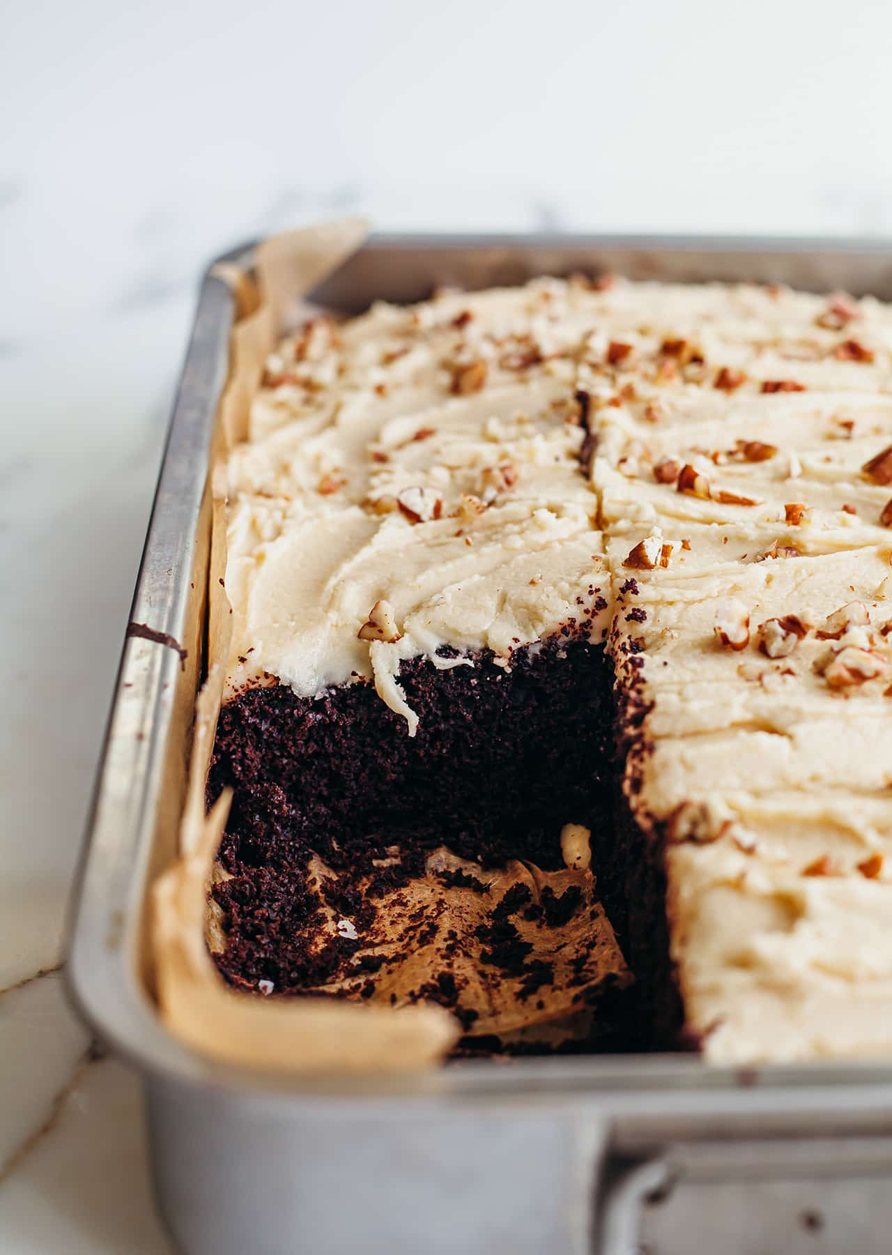 Spiced Chocolate Coffee Cake Buttercream Vegan Recipe