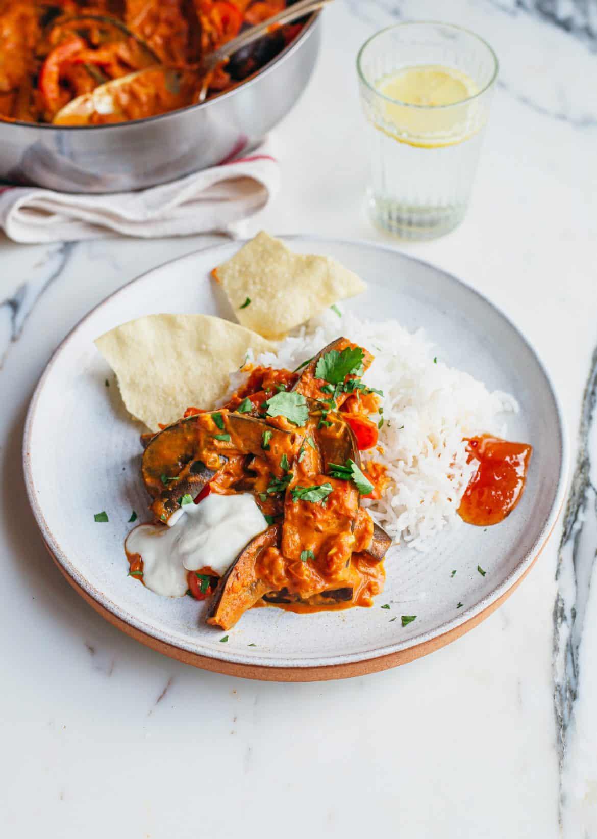 Vegan 30-Minute Aubergine Coconut Curry Recipe