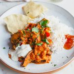 Vegan 30 Minute Aubergine Coconut Curry Recipe