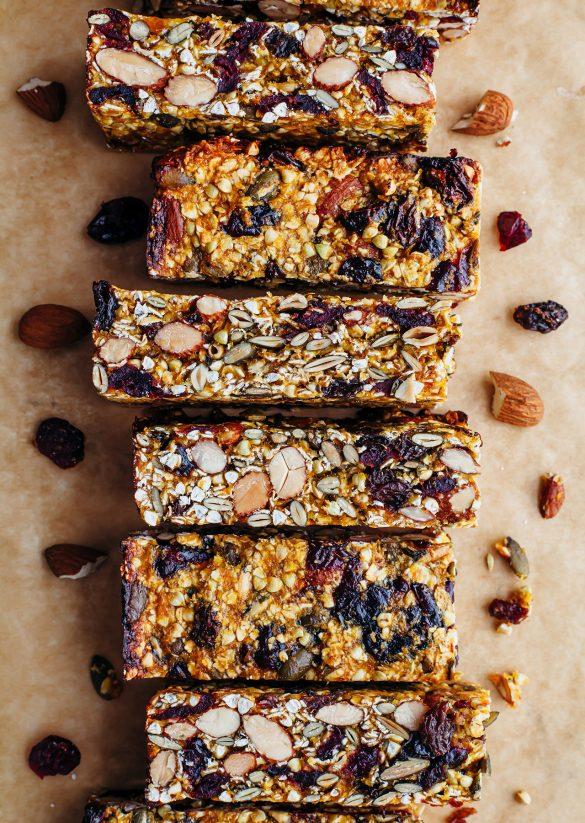 Vegan Homemade Energy Bars