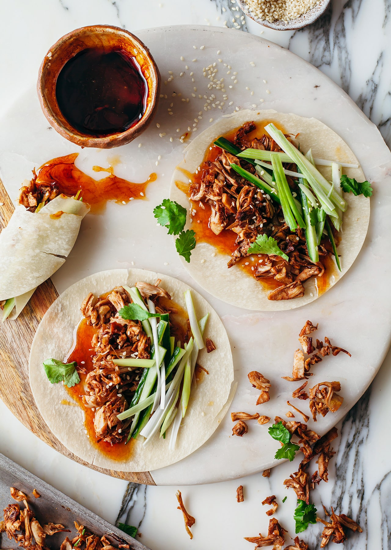 Vegan Crispy Duck Pancakes So Vegan