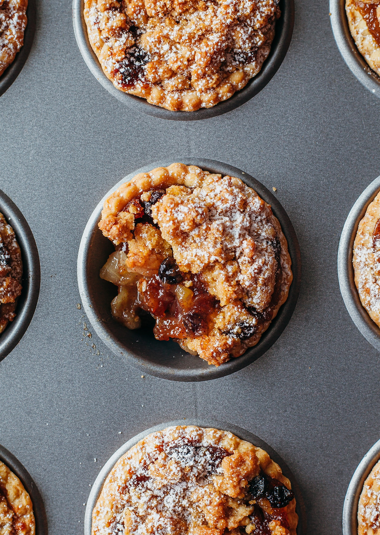 Vegan Apple Crumble Mince Pies Recipe
