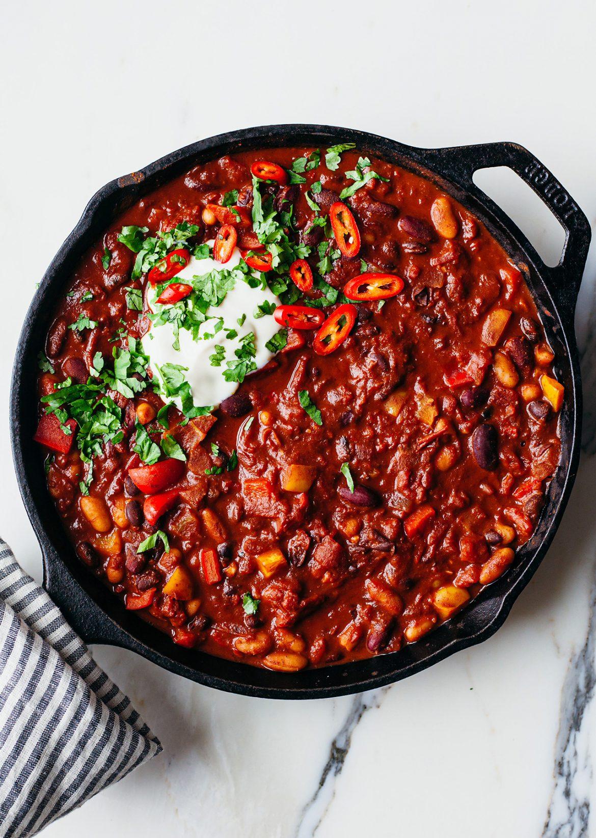 The Ultimate Vegan Chilli Recipe