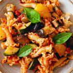 Ratatouille Pasta Vegan Recipe
