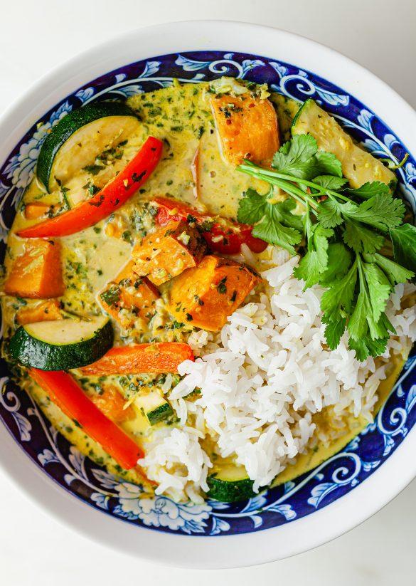 Vegan Sweet Potato Coconut Curry Recipe