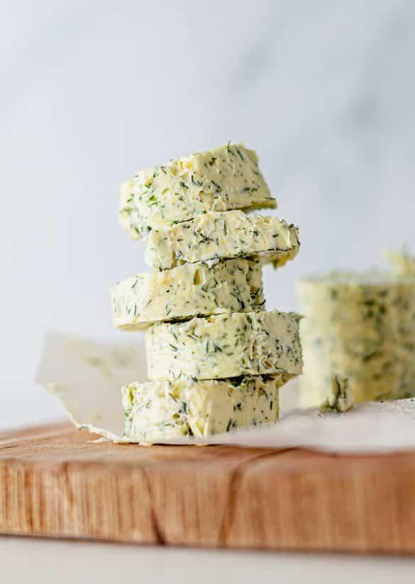 Vegan Garlic Dill Butter Compound Recipe