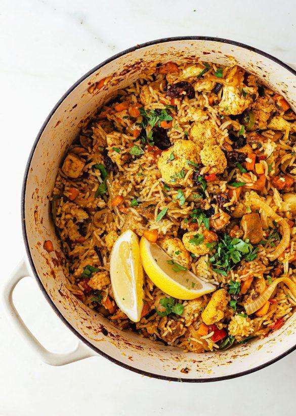 One Pot Vegan Biryani Recipe