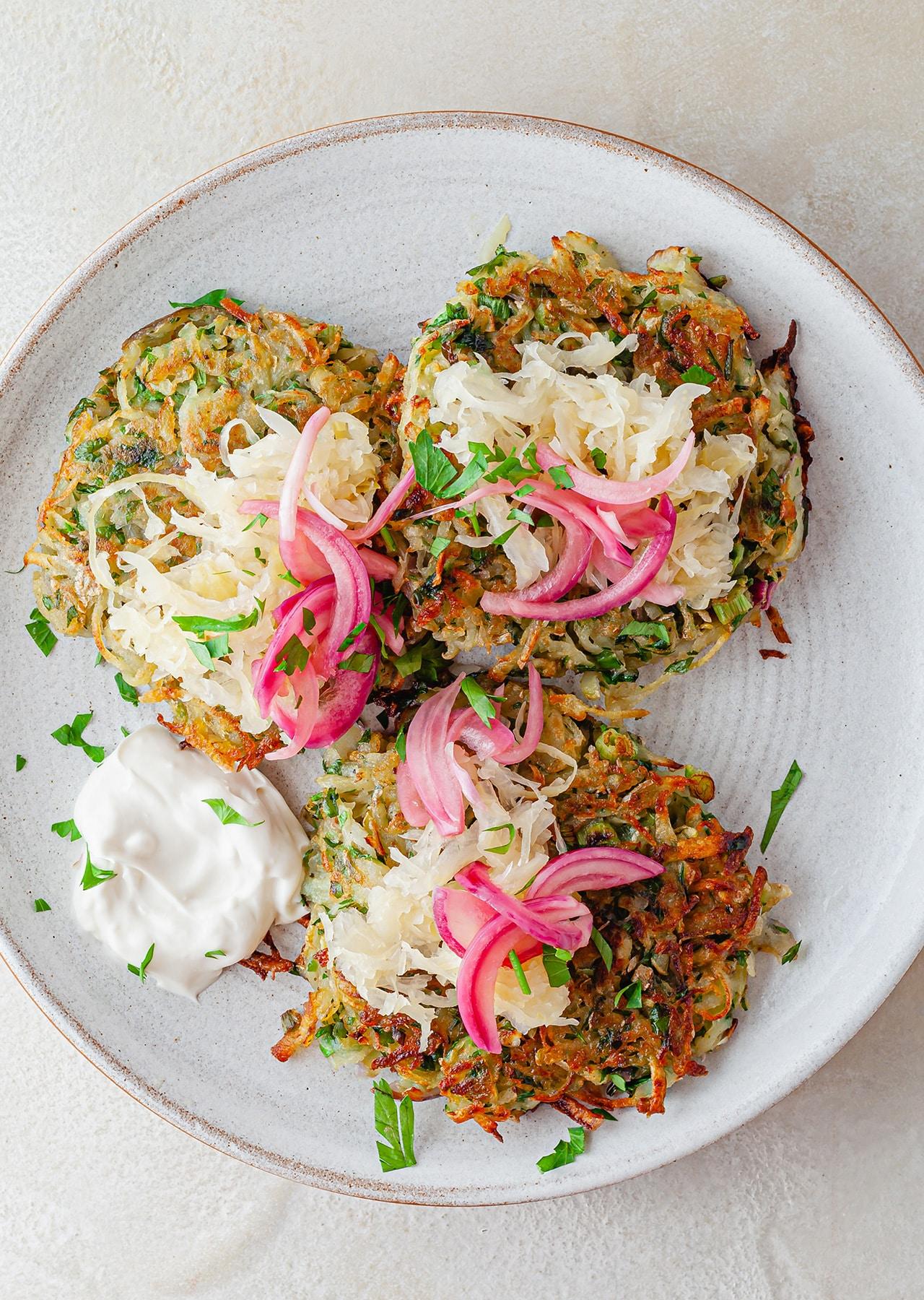 Vegan Potato Pancakes Recipe