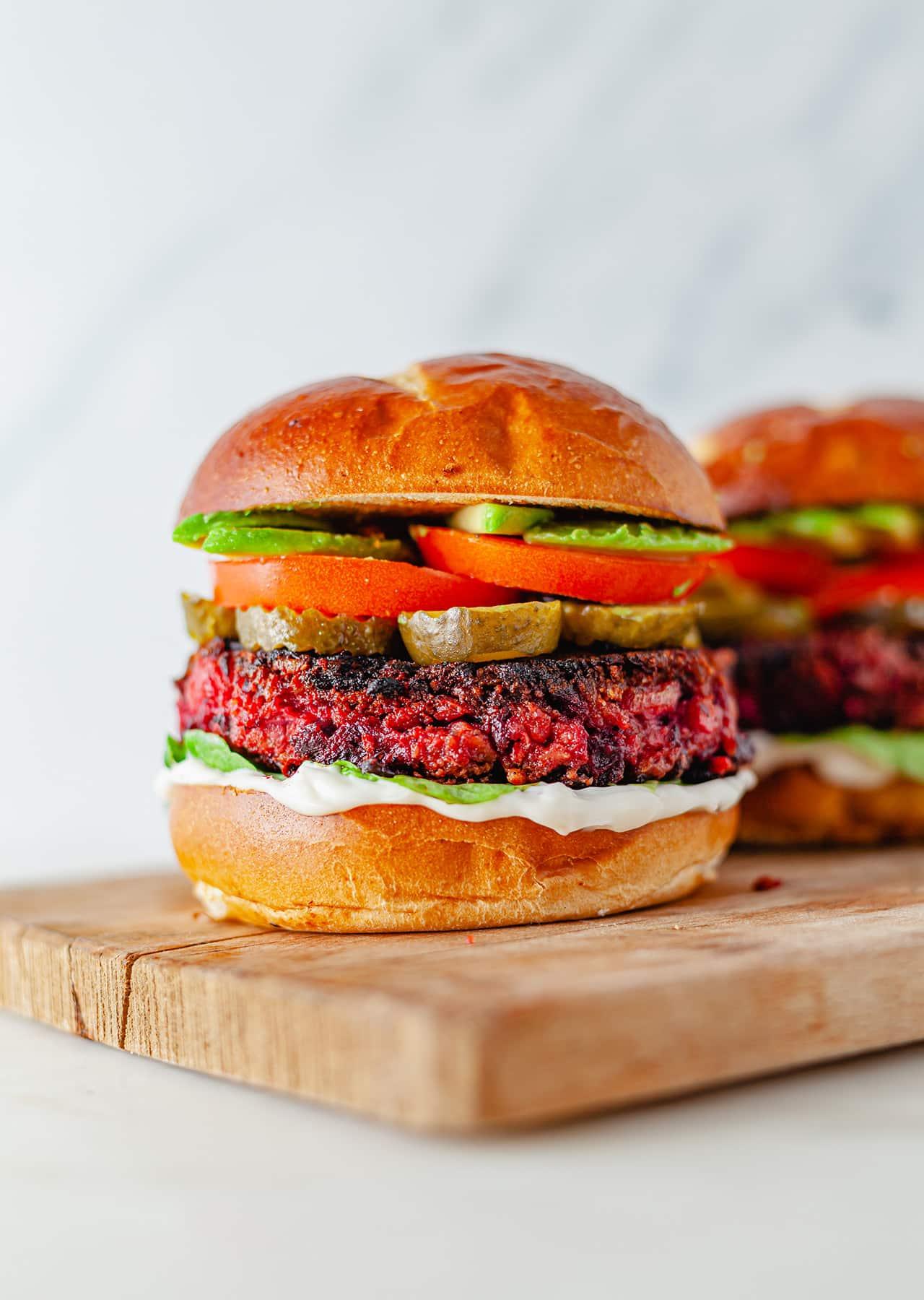 Vegan Beetroot Burger Recipe