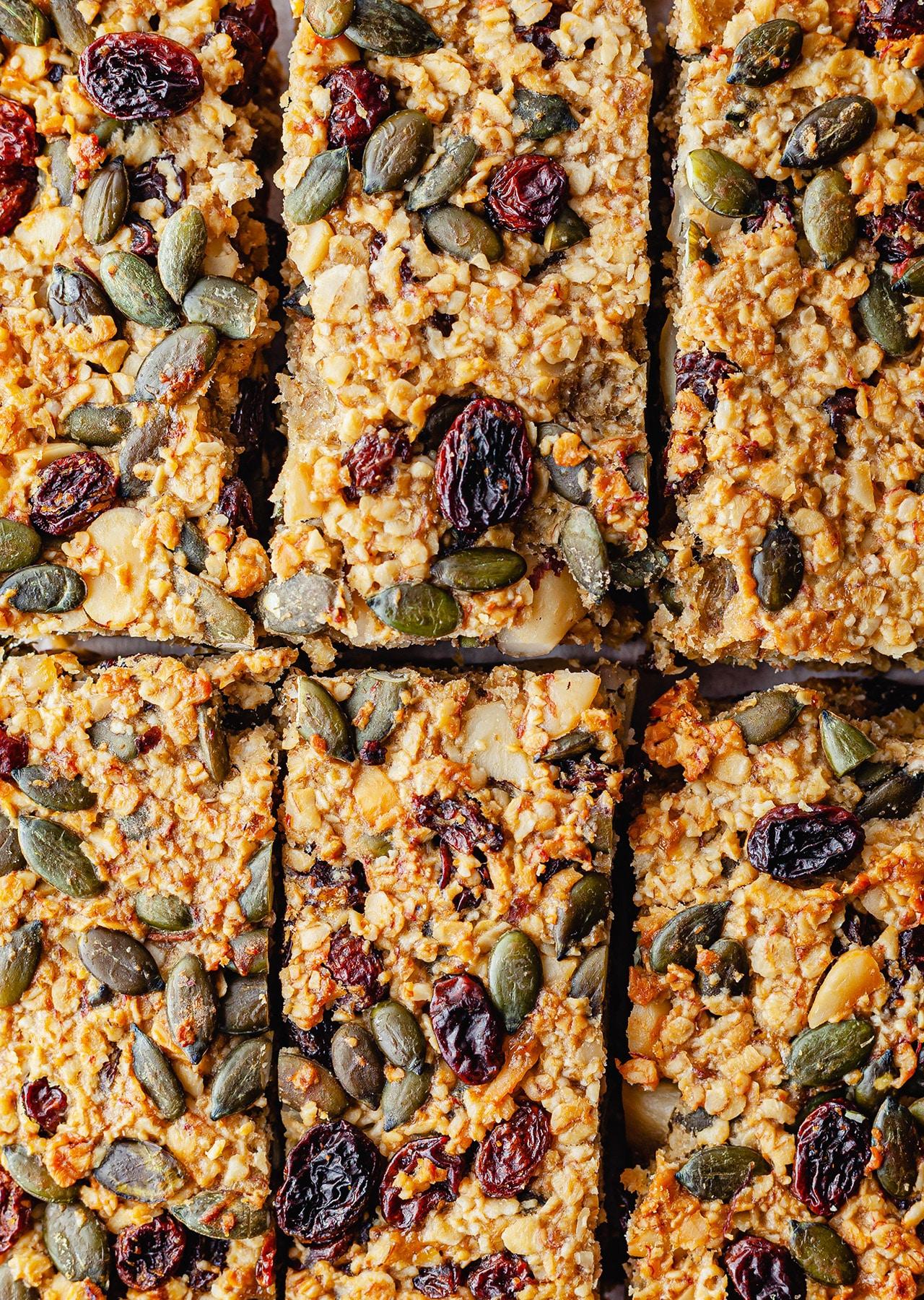Vegan Breakfast Oat Bars Recipe