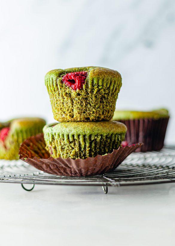 Vegan Matcha Muffins Recipe