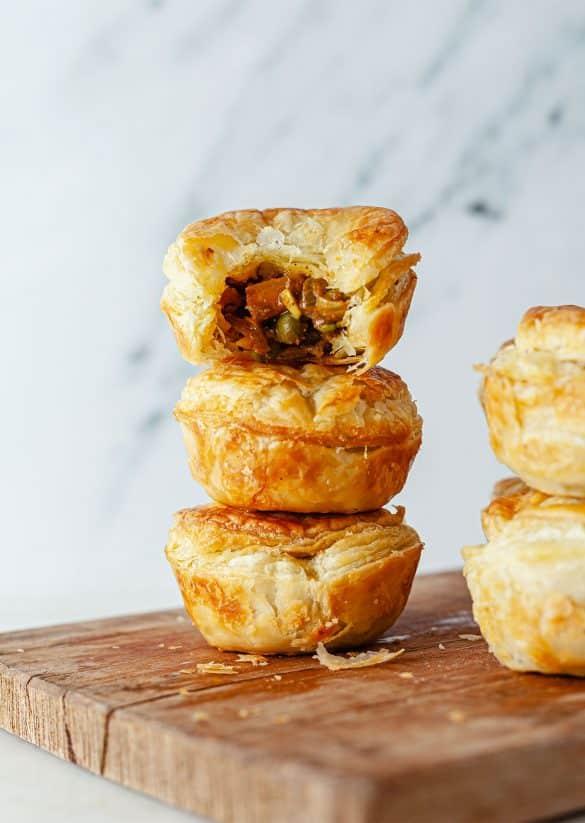 Vegan Mini Samosa Pies Recipe