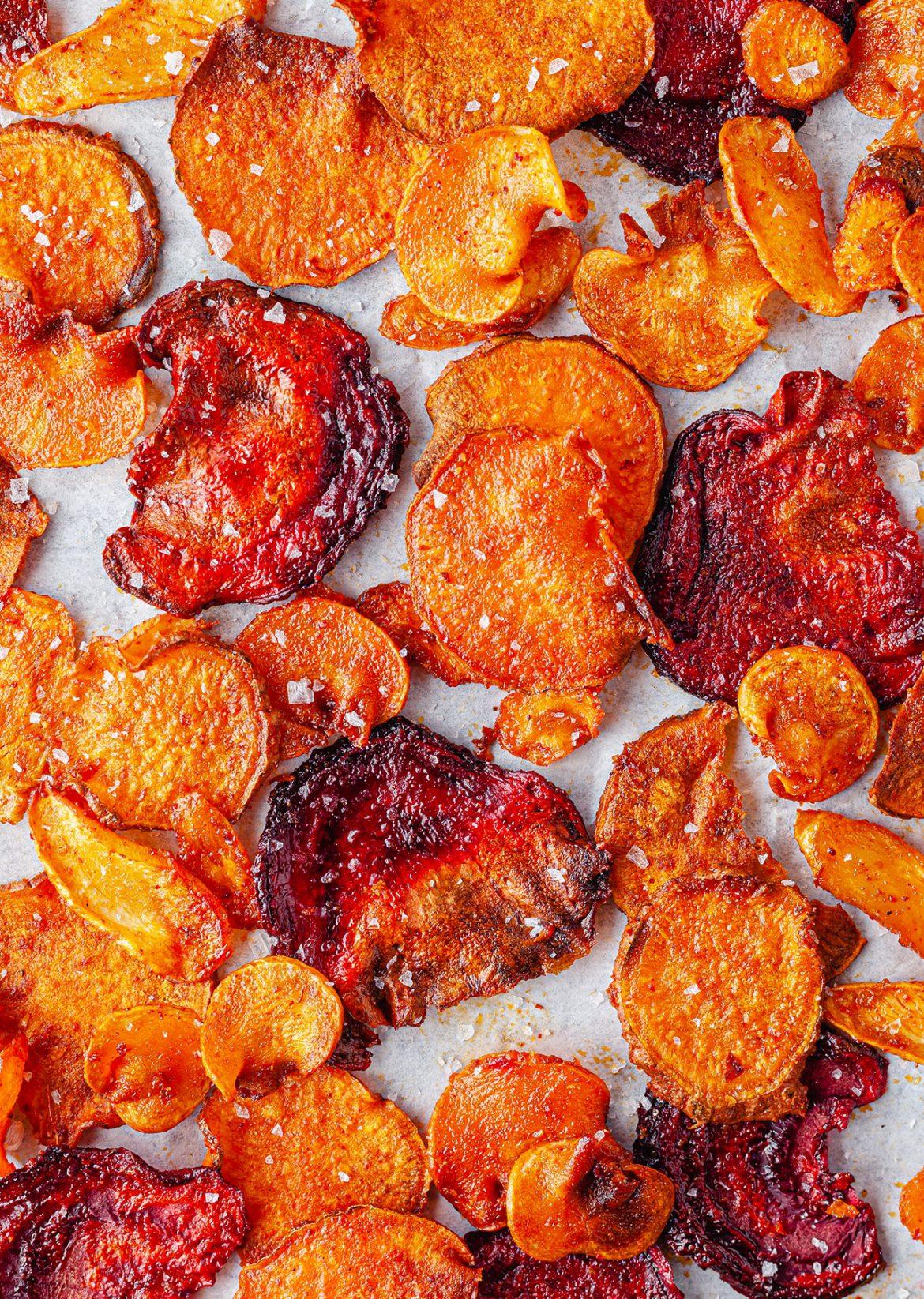 Vegan Vegetable Crisps Recipe
