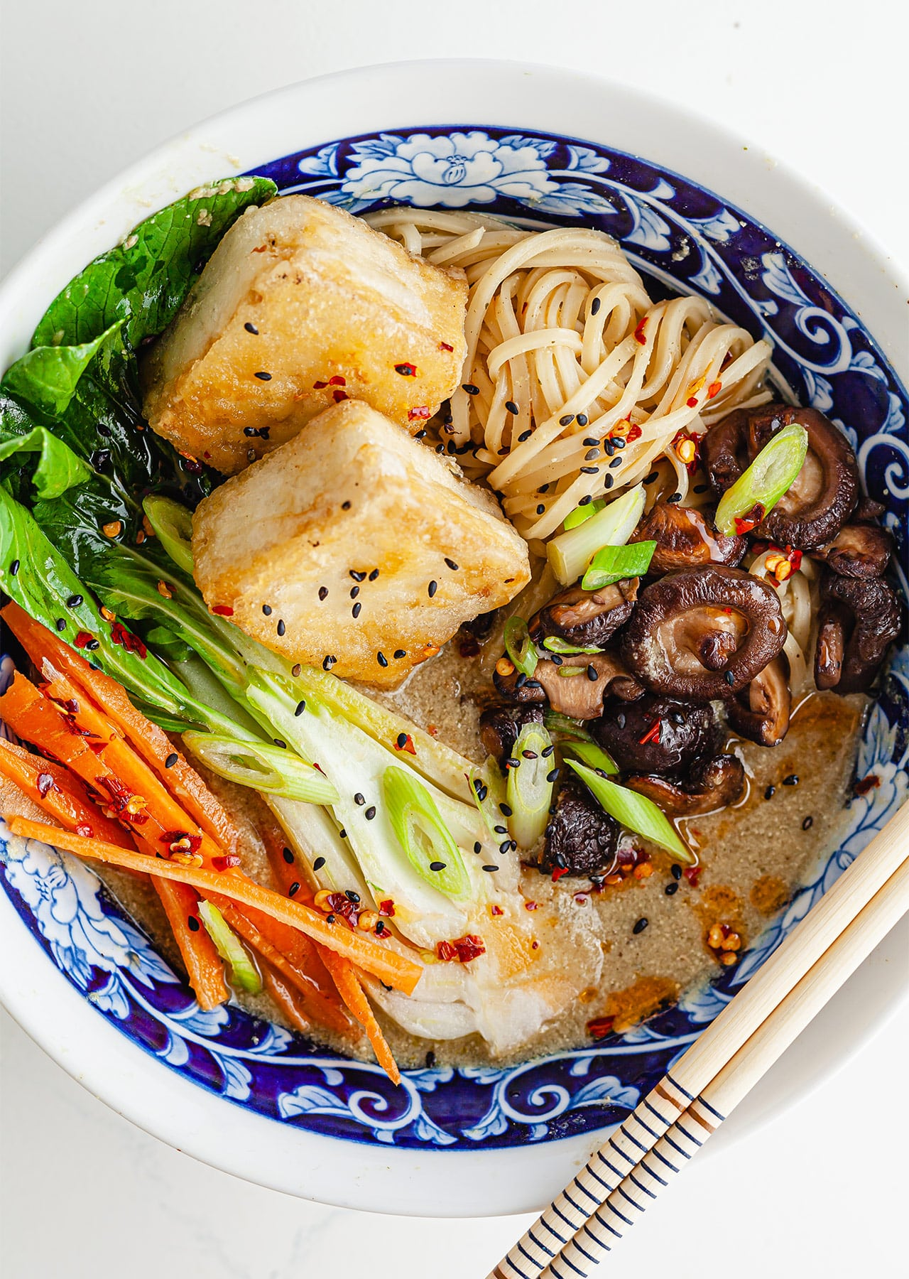 Vegan Shiitake Ramen Recipe